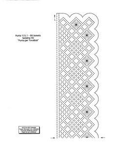 500 PLANTILLAS DE BOLILLOS - Patri Cru - Álbumes web de Picasa Crochet Borders, Crochet Motif, Crochet Shawl, Bobbin Lace Patterns, Bead Loom Patterns, Top Fashion, Hairpin Lace Crochet, Bobbin Lacemaking, Lace Earrings