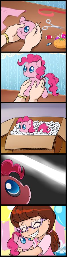 Birth of a plushie (commissioned) by tan575.deviantart.com