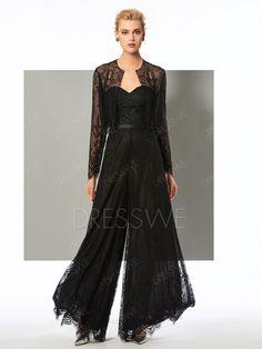 1170bb4b6725 Buy Sheath Long Sleeve Applique Lace Long Jumpsuit Online