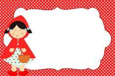 LARGE SET-- Montando a minha festa: Chapeuzinho vermelho Shabby Chic