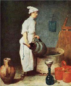 The Cellar Boy - Jean-Baptiste-Simeon Chardin