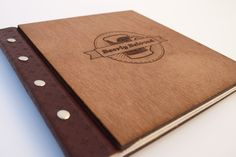 Beerly Beloved wood and leather cover