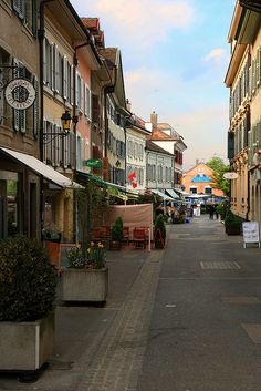 Geneva. Rue de Rive