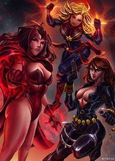 Marvel Girls, Art Kuzu
