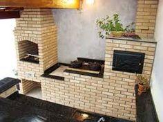 Resultado de imagem para projetos de quintal com churrasqueira fogão lenha