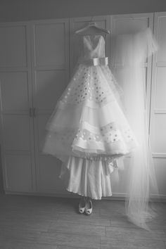 Stunning Ball Gown Tulle Wedding Dresses Strapless Polka Dots Puffy Bridal Gowns sold by Babybridal . Shop more products from Babybridal on Storenvy, the home of independent small businesses all over the world. Polka Dot Wedding Dress, Tulle Wedding, Wedding Dresses, Wedding Bells, Dress Meaning, Bride Look, Try On, Ladies Dress Design, Bridal Gowns