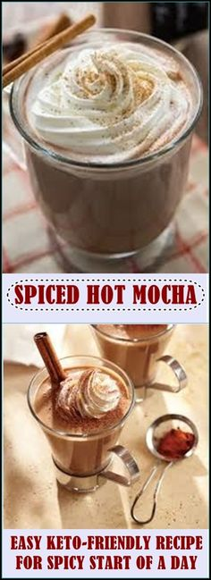 Here we present a recipe for a bit spicier mocha. You'll enjoy this perfect taste and smell of low-carb coffee.This keto-friendly spiced mocha is so easy and delicious. The spices add an extra Mexican hint. But if you want to keep it simple, just skip the spices and use coffee, coconut milk, cacao powder and a few drops of stevia.