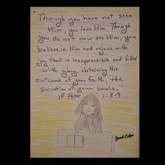 Scripture Quotes, Bible Scriptures, Walk In The Spirit, You Are Blessed, Art Journaling, Love Him, The Balm, Believe, Lord