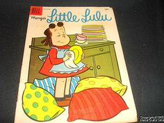Comic Book LITTLE LULU Washing Dishes Vo1 #102 Dec 1956 Vtg  our#19/ | eBay