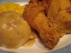 Aunt Liz's Golden Fried Chicken Recipe served at Fifties Prime Time Cafe in Hollywood Studios at Disney World