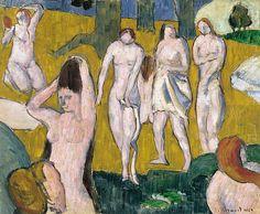 Bathers  Emile Bernard