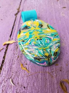 Your place to buy and sell all things handmade Resin Coating, Teal, Purple, Polymer Clay Beads, Jewelry Supplies, Pendant Jewelry, Artisan, My Etsy Shop, Pendants