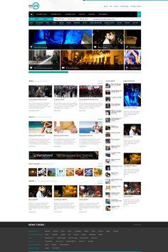 NEWS24 | 4 in 1 News/Magazine Wordpress Theme  #wordpress #theme #website #template #responsive #design #webdesign #flat #flatdesign #magazine #blog