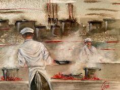 Acquerello - Chef all'opera