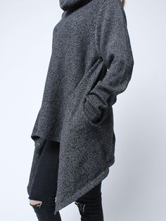 Fully Knit Irregular Hooded Cardigan - Google Search