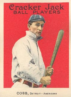 ty cobb baseball card - Google Search wanting to make a board of my favorite (or at least All-time great) Tigers