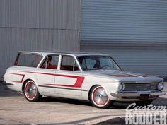 1964 Plymouth Valiant #stationwagon