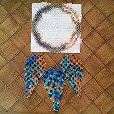 Dreamcatcher hama beads by  darkmaman