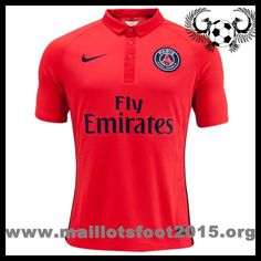nike psg third equipement de maillot de foot pas cher 2014-2015 Red Fly Emirates
