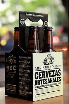 Cervezas artesanales Made in Colombia, nice.