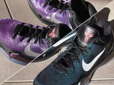 """Kobe VII """"Invisibility Cloak"""".  The color changes from purple to turquoise depending on the light."""