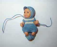 Crochet Boy Set For 1 3/4 Inch BARBIE Nikki by manyminithings
