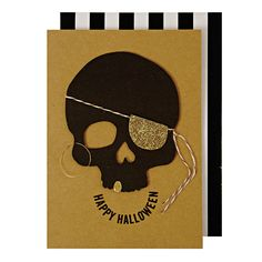 Skull Halloween Greeting Cards