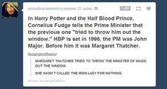 Hahaha Margaret Thatcher