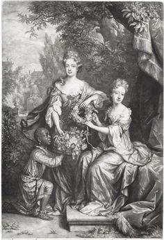 1691 Frances Coningsby (née Jones), Lady Coningsby Lady Catherine Jones by John Smith, published by Edward Cooper, after Jan van der Vaart, after William Wissing