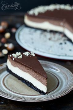 Nutella Cheesecake #treats #cakes