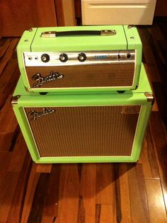 1971 Fender Champ #guitar #amp by Reese Customs courtesy of Johnathon Burns - Guitar Stories USAGuitar Stories USA
