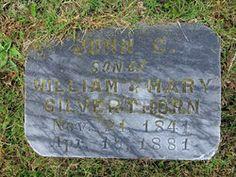Pvt John Crippen (Crippin?) Silverthorn 1841-1881.  Pvt. Co K. 34th VA Infantry CSA.