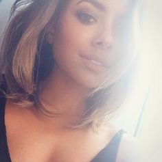 tvdepll: Kat Graham su Instagram. Bonnie Bennett, Bonnie And Enzo, Katerina Graham, Stefan And Caroline, Danielle Campbell, Beautiful Actresses, Hair Trends, My Hair, Hair Cuts
