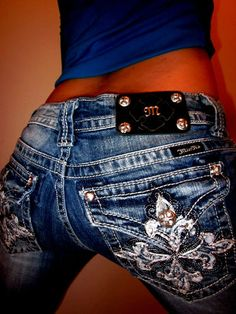 cute miss me jeans i always try them on but they never seem to fit they are all to big or to small or don't have the size i want!