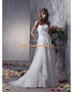 Uniques und schönes Brautkleid A-Linie aus Chiffon 2013