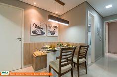 Apartamentos de 2 quartos no Sóter, com ou sem suíte, em condomínio fechado com vaga de garagem e área de lazer no Colina das Palmeiras - Campo grande - MS - MRV Engenharia.