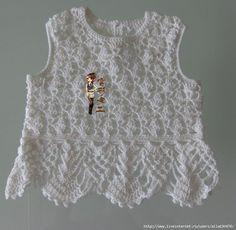 AS RECEITAS DE CROCHÊ: Blusa de croche para menina