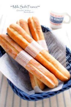 「ミルクソフトフランスパン」あきあきママ | お菓子・パンのレシピや作り方【corecle*コレクル】