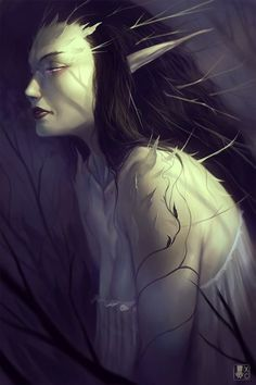 Dark faeries by Coliandre.deviant... on @deviantART  Fae, for Changeling the Lost.