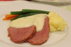 Easy Silverside made in the Slow Cooker. Corned Silverside Slow Cooker, How To Cook Silverside, Silverside Beef, Slow Cooker Corned Beef, Slow Cooker Recipes, Beef Recipes, Cooking Recipes, Slow Cooking