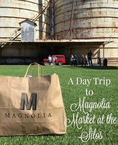 5 Fun Things to Know About Chip & Joanna Gaines' Magnolia Market at the Silos - R We There Yet Mom? - Take a trip to Waco, Texas to visit the Magnolia Market at the Silos – home of Chip & Joanna Gain - Waco Magnolia, Magnolia Joanna Gaines, Magnolia Farms, Magnolia Market, Chip And Joanna Gaines, Chip Gaines, Magnolia Homes, Texas Roadtrip, Texas Travel