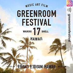 GREENROOM FESTIVAL Hawaii'17 #repost for @greenroomfestival  http://greenroomfest.com/ . 🏝PAK OK SUNの写真が使用されています🏝 上記HP内TOPにも大きく載っています⛱⛵️🍹 . GREENROOM FESTIVALとは、 「Save The Beach、Save The Ocean」 全国で急速に減少しているビーチを守りたい。 サブカルチャー、ビーチカルチャーをルーツに持つ、音楽とアートのカルチャーフェスティバル。 . #pakoksun #パクオクスン #photographer #photography #photo #greenroomfestival #hawaii #diamondhead