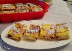 Lusta rétes   Szép Ágnes receptje - Cookpad receptek French Toast, Breakfast, Food, Kitchen, Morning Coffee, Cooking, Essen, Kitchens, Meals