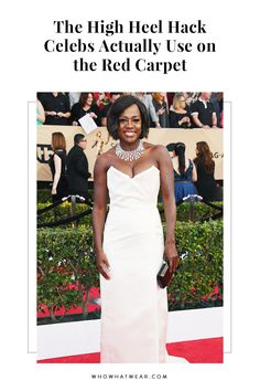 Viola Davis admitted to using this brilliant hack on the red carpet—and it's life-changing. Here's how celebs manage to walk in heels for hours without any pain.