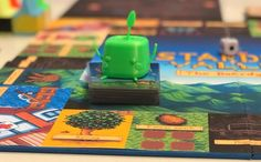 Plant seeds, harvest crops, and nick another player's potatoes in this Stardew Valley board game Strawberry Seed, Strawberry Patch, Have Board, Blobfish, Board Game Design, Gears Of War, First Game, Pc Gamer, Life Savers