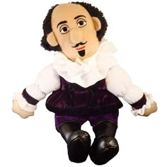 William Shakespeare - Little Thinker - Plush Doll >>> For more information, visit image link. (This is an affiliate link)