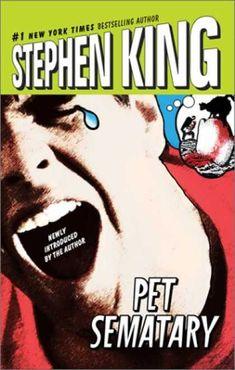 Stephen King Books - Pet Sematary