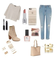 """""""Fun look"""" by rainn1233 on Polyvore featuring MANGO, River Island, Timberland, Old Navy, Casetify, Forever 21, Étoile Isabel Marant, ncLA, Bobbi Brown Cosmetics and Chanel"""