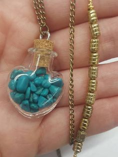 Check out this item in my Etsy shop https://www.etsy.com/listing/255271900/turquoise-heart-capsule-healing