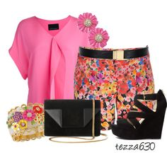 Floral Fun! by tezza630 on Polyvore